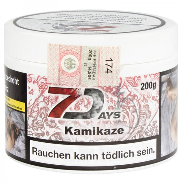 7 Days Tabak - Kamikaze 200 g