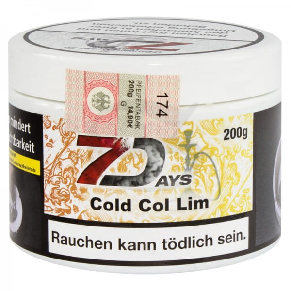 7 Days Tabak - Cold Col Lim 200 g