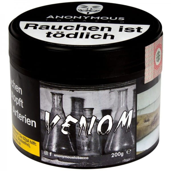Anonymous Tabak Venom 200 g Dose