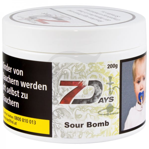 7 Days Tabak - Sour Bomb 200 g