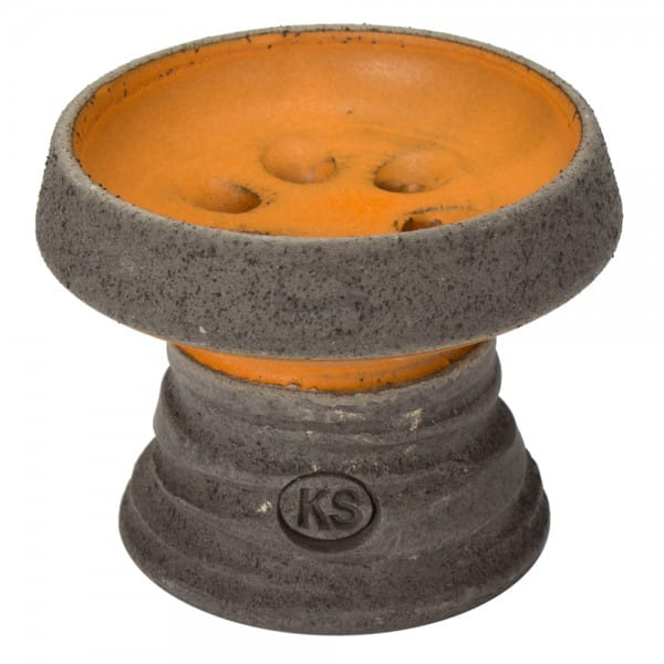 KS Appo Mini Steinkopf - Schwarz Orange