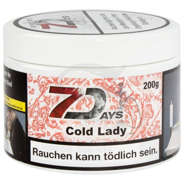 7 Days Tabak - Cold Lady 200 g