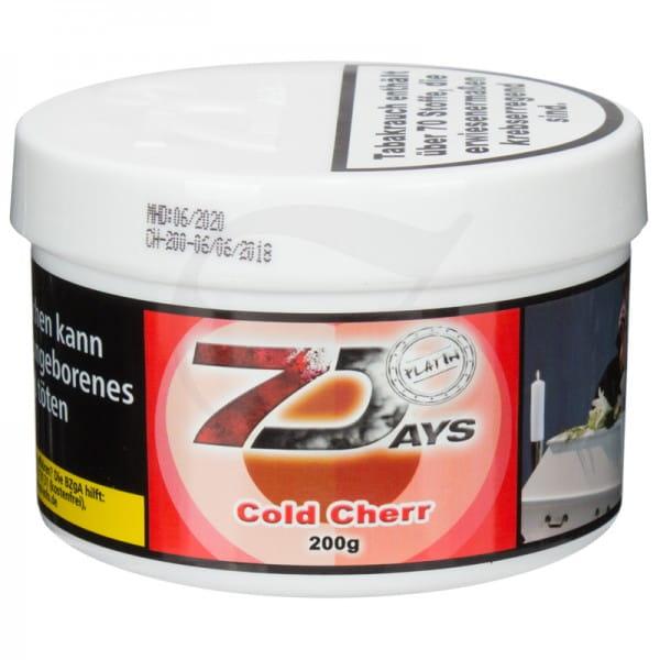 7 Days Platin Tabak - Cold Cherr 200 g