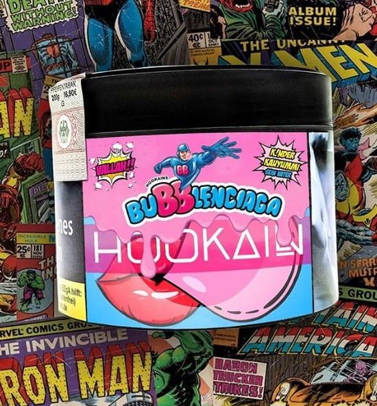 Hookain Tabak - Bubblenciaga 200 g
