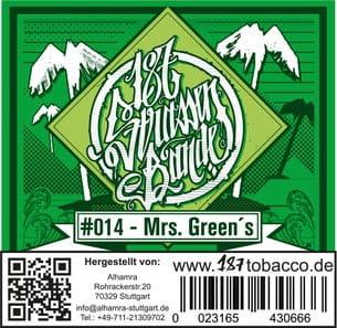 187 Strassenbande Tabak Mrs. Greens 200 g