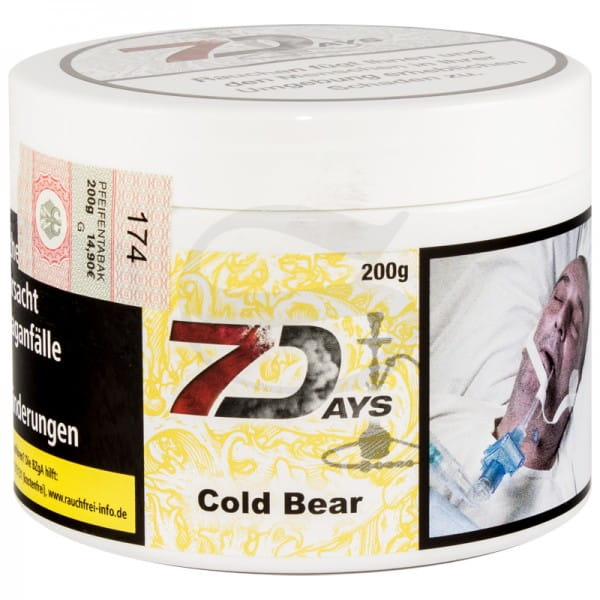 7 Days Tabak - Cold Bear 200 g