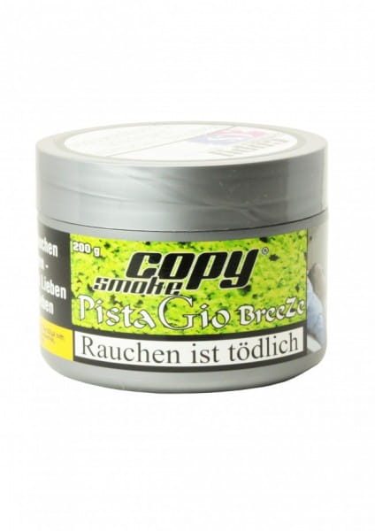 Copy Smoke Tabak - Pista Gio Breeze 200 g