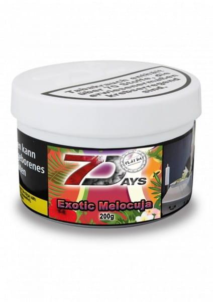 7 Days Platin Tabak - Exotic Melocuja 200 g