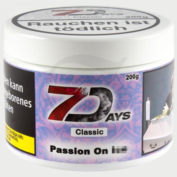 7 Days Tabak - Passion 200 g