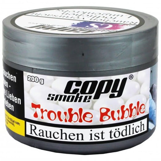 Copy Smoke Tabak - Trouble Bubble 200 g