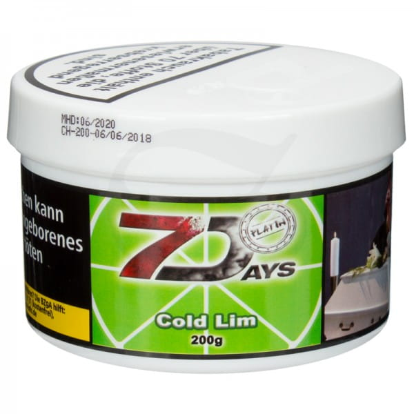 7 Days Platin Tabak - Cold Lim 200 g
