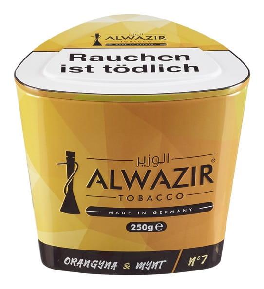 Alwazir Tabak - Orangyna Mynt 250 g