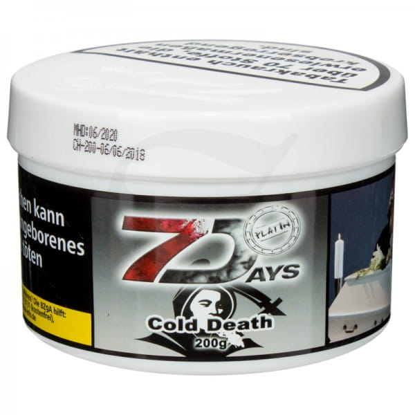 7 Days Platin Tabak - Cold Death 200 g