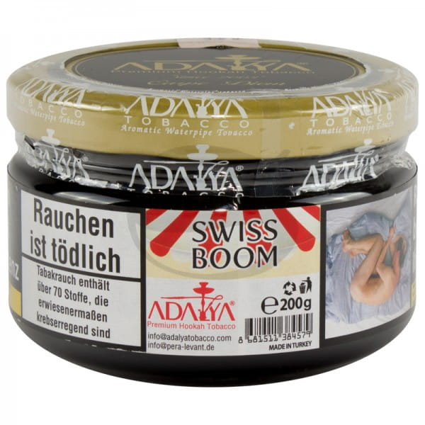 Adalya Tabak Swiss Boom 200 g