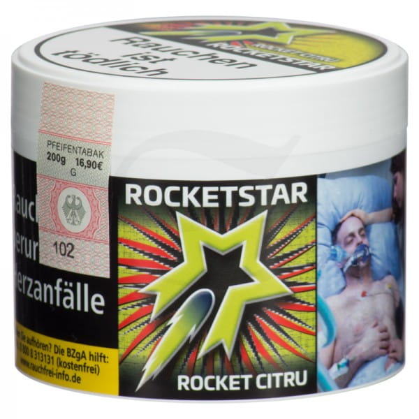 Rocketstar Tabak - Rocket Citru 200 g