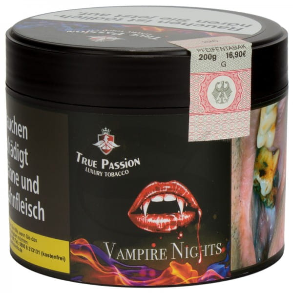 True Passion Tabak Vampire Nights 200g