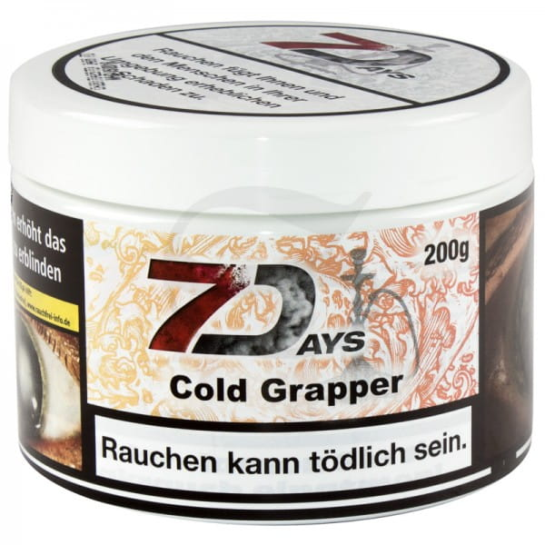 7 Days Tabak - Cold Grapper 200 g