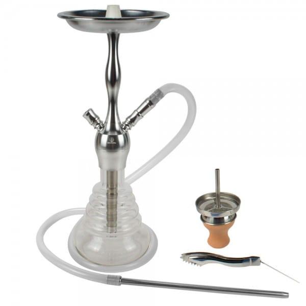 ShishaMe Alula Silber - 450er Komplettset