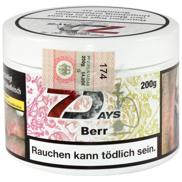 7 Days Tabak - Berr 200 g