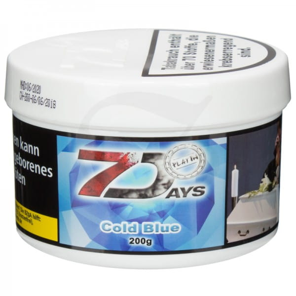 7 Days Platin Tabak - Cold Blue 200 g