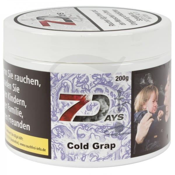 7 Days Tabak - Cold Grap 200 g