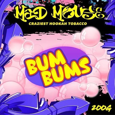 Mad Mouse Tabak - Bum Bums 200 g