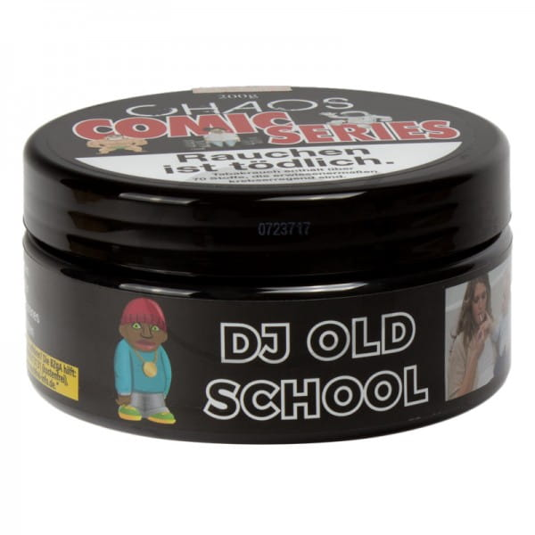 Chaos Tabak Comic Series - Dj Old School 200 g