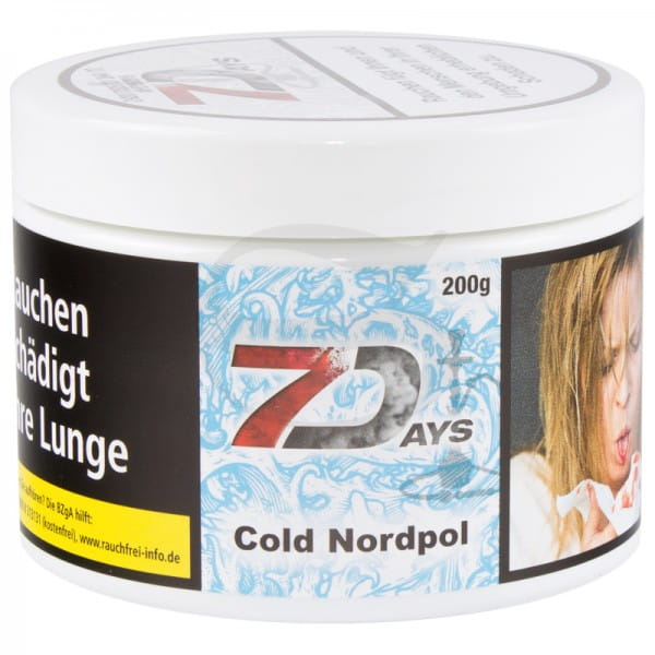 7 Days Tabak - Cold Nordpol 200 g Classic