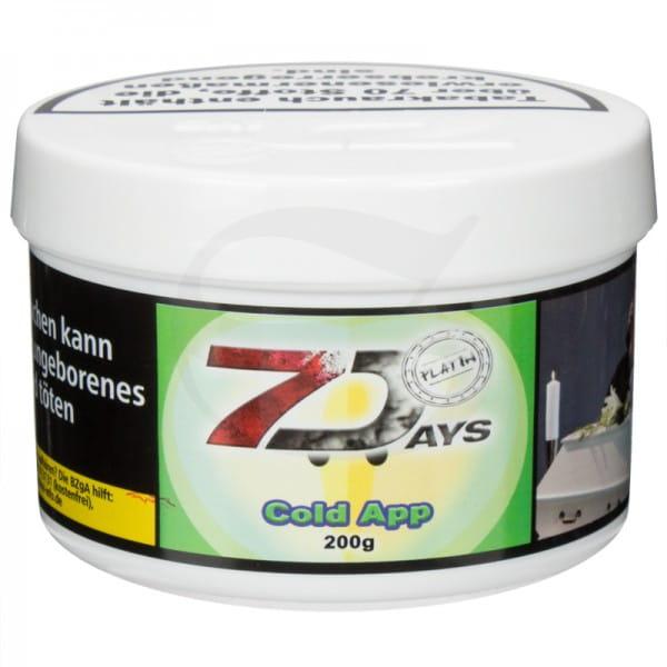 7 Days Platin Tabak - Cold App 200 g