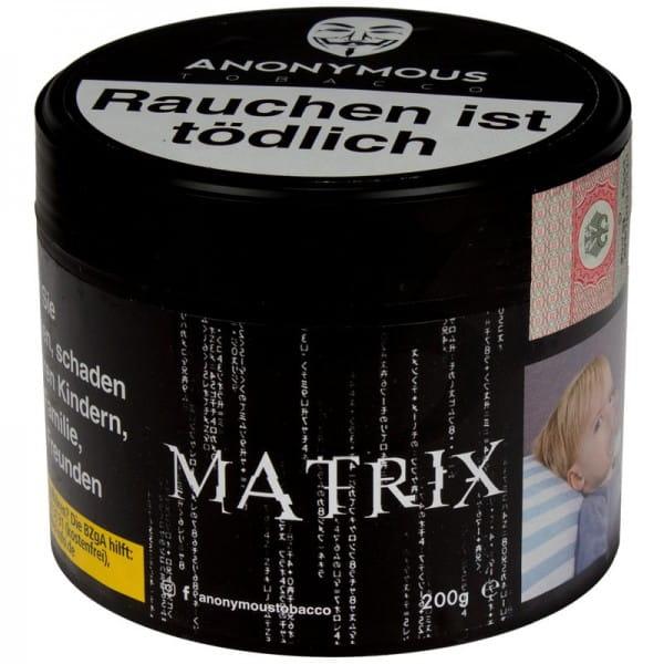 Anonymous Tabak Matrix 200 g Dose