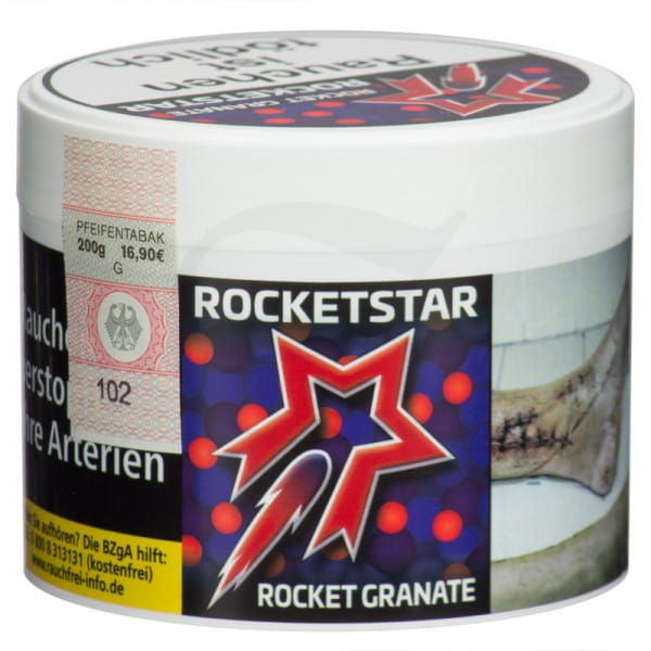 Rocketstar Tabak - Rocket Granate 200 g