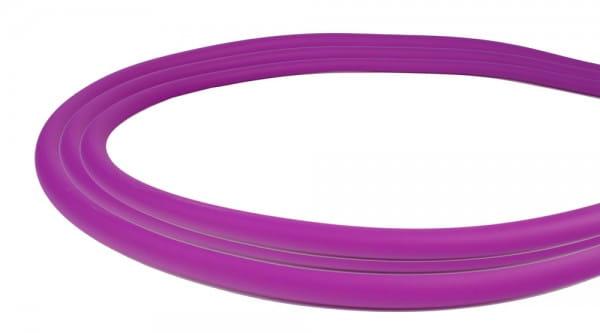 Silikonschlauch Soft-Touch Matt - Violett