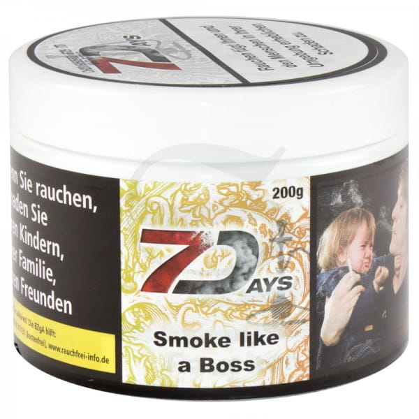 7 Days Tabak - Smoke Like a Boss 200 g