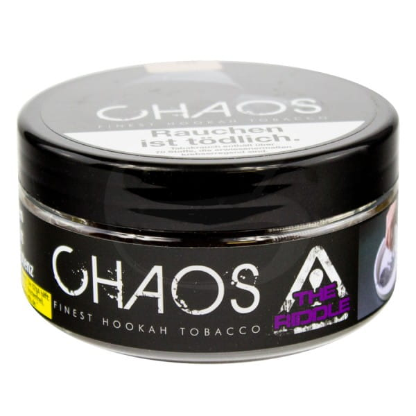 Chaos Tabak The Riddle 200 g Dose