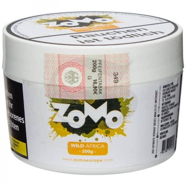 Zomo Tabak - Wild Africa 200 g