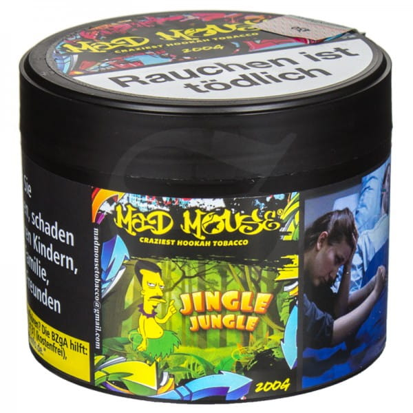 Mad Mouse Tabak - Jingle Jungle 200 g